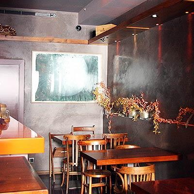 Ostras Gouthier - Aspecto del interior del restaurante Gouthier en Barcelona