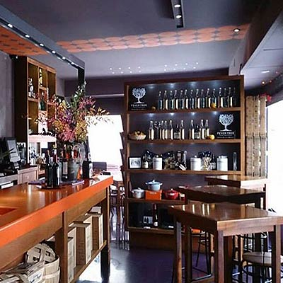 Ostras Gouthier - Aspecto del Interior del restaurante Gouthier